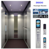 Elevador elétrico do homem do passageiro da pessoa do edifício 4 do melhor preço de Deeoo