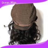 Quercy 머리 100% 페루 사람 Virgin Remy 사람의 모발 바디 파면 레이스 가발