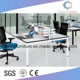 Poste de travail modulaire droit de meubles de bureau de tâche de bureau élégant pour l'amorce