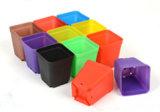 각종 디자인 및 색깔을%s 가진 플라스틱 꽃 재배자