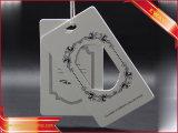 Серебряный логос напечатал бумажную бирку логоса одежды бирки Hang
