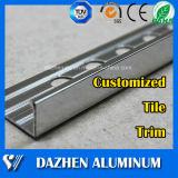 양극 처리하는을%s 가진 최고 판매 도와 손질 알루미늄 알루미늄 밀어남 단면도