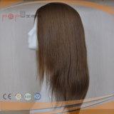 Silk Spitzenperücken 100% der 120% Dichte-Jungfrau-Haar-reinen Farben-#8