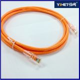 23AWG Cable de conexión CAT6 con conectores RJ45 - 1m naranja