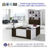 Деревянный стол офиса офисной мебели подгонянный с L-Формой (D1609#)