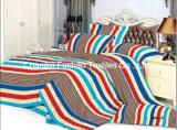 Reeks van het Beddegoed van de Dekking van het Dekbed van het Af:drukken van de Douane van de Polyester van de Grootte van het Huis van China Suppiler de Textiel Tweeling Dierlijke Kleurrijke Goedkope