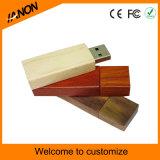 Vente en gros de lecteur flash USB en bois avec votre logo