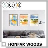 Peinture abstraite Impressionlist d'art de mur pour la décoration à la maison