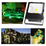 IP65 70W LED proyector 80Ra al aire libre de la lámpara LED del jardín