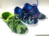 卸売はからかう注入のズック靴の偶然のスポーツの靴(FFDL112101)を