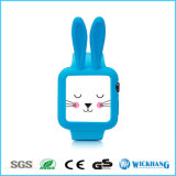 Cartoon Rabbit Ears Soft Silicone Protective Case para Apple Watch 1/2
