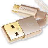 Micro cavo di dati di carico veloce del USB del cavo per Samsung SONY HTC