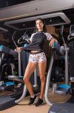 中国の普及した女性の猫パターン体操の圧縮のスパンデックスのトレーニングのスポーツ・ウェア