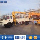 Hidráulico grúa montada pequeño carro del camión que carga