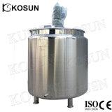 アジテータ製造業者が付いているJacketed熱くする高品質のステンレス鋼混合タンク