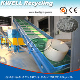 Único eixo 800 plástico Waste que recicl o Shredder com triturador
