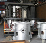 Fornalha de indução da freqüência média de um Coreless de 150 quilogramas a de 60 toneladas para o aço de derretimento do ferro de sucata