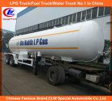 3 Axle LPG Tanker Semi Trailers, 40m3 54m3 56m3 60m3 LPG Tank Semi Trailer