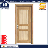 Porte en bois composée intérieure d'extérieur de mélamine en bois solide de PVC pour l'hôtel/appartement