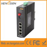 5 기가비트 포트 Tx와 Fx에 의하여 처리되는 산업 통신망 스위치