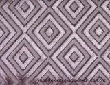 Tela tejida del poliester de la tapicería de la materia textil del sofá del terciopelo del corte