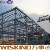 Gruppo di lavoro della struttura d'acciaio/magazzino/iso d'acciaio 9001, struttura chiara della costruzione del blocco per grafici d'acciaio