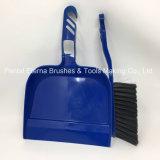 Dustpan plástico do projeto quente da venda com a escova para o assoalho da limpeza