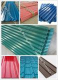 El color de SGCC Z80 Ral9016 cubierto galvanizó la bobina de acero para el material de material para techos