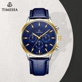 Luxuxchronographmens-Uhr auf Verkaufs-Edelstahl-Armbanduhr für Männer 72764