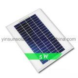 5W самонаводят панель солнечных батарей PV солнечной электрической системы поликристаллическая
