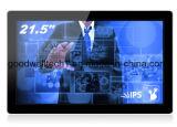 """IPSのパネル21.5 """"金属フレームが付いているTFT LCDのモニタ"""