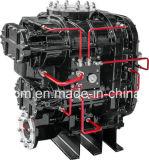 Energía industrial de ahorro de tornillo de dos etapas de aceite del compresor de aire (KD75-13II)