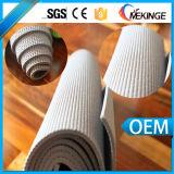 Escritura de la etiqueta privada modificada para requisitos particulares de la estera de la yoga del PVC del surtidor chino