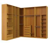 Wardrobe aberto do armário da multi L-Forma das funções
