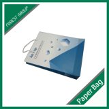 Bolsa de papel reciclable de alta calidad personalizado impreso colorido
