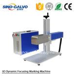 Máquina dinâmica da marcação do laser da fibra 3D da alta qualidade de Sg7210-3D