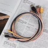 câble usb de remplissage rapide de 1m/2m/3m pour les téléphones androïdes de Samsung/iPhone 6 7