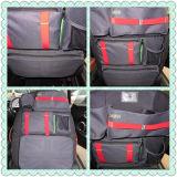 Bolsa de herramientas del bolso de escuela de la insignia de Mini Cooper de la mochila del bolso del almacenaje de la manera (1PC/set)