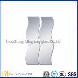 Espejo biselado con varias dimensiones de una variable del espejo revestido de la plata