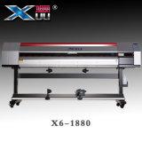 Imprimante à jet d'encre de Xuli avec la tête d'impression d'Epson DX5 de largeur de 1.8m