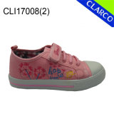 Girls Canvas Vulcanized Sports Sneaker Shoes