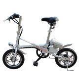 E-Bicicleta de dobramento elétrica da bicicleta de 250W 36V com a bicicleta elétrica/o de alumínio frame da bateria de lítio/aço de carbono