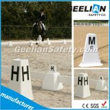 競馬PVC Dressage競技場の円錐形のためのマーカーの文字