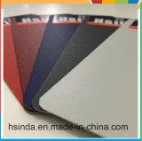 Capa brillante gris de seda de cuero Glittering del polvo de Hsinda Ral7035
