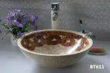Lavabo sanitaire de mosaïque de Chaud-Vente