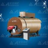 4.2 MW水平のガス燃焼 大気圧の熱湯ボイラー