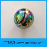 billes magnétiques de ferrite de 25mm d'aimant d'hématite en céramique intense d'aimant