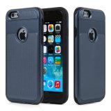 名刺のホールダーとのiPhone 6のケースのための1つの携帯電話の箱に付き卸売2つ