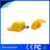 도매 PVC 헬멧 USB 지팡이에 의하여 개인화되는 선물 플래시 메모리 지팡이