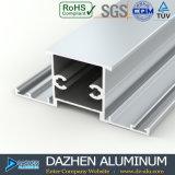 Perfil de aluminio modificado para requisitos particulares Suráfrica de la protuberancia del marco de la ventana